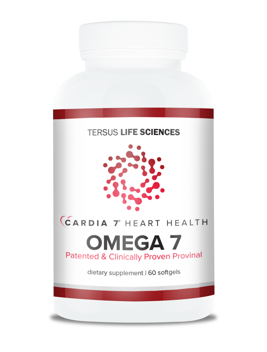 Cardia 7 Purified Omega 7 Softgels 60 count