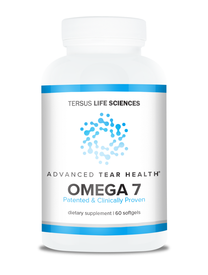 Tersus Life Sciences Tear Health Omega 7 for dry eyes - increase tear production