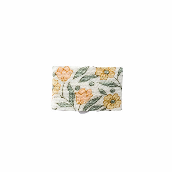 Mini Snap Clip | Tulips in Peach