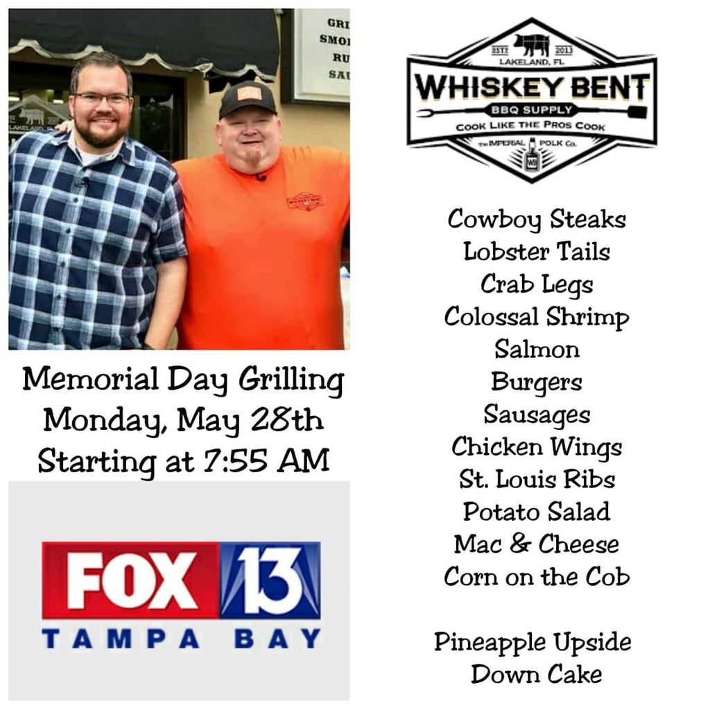 Memorial Day Appearance on Fox 13 Tampa with Charley Belcher