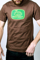 Mens T-Shirt: OG Trailer (Brown)