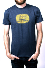 Mens T-Shirt: Vintage Trailer (Navy)