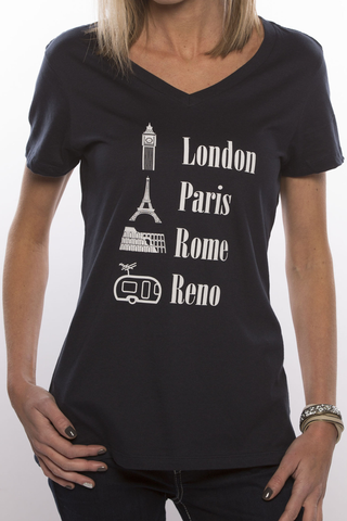 World Traveler V-Neck