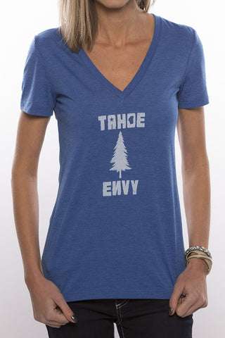 Tahoe Pine Women V-Neck