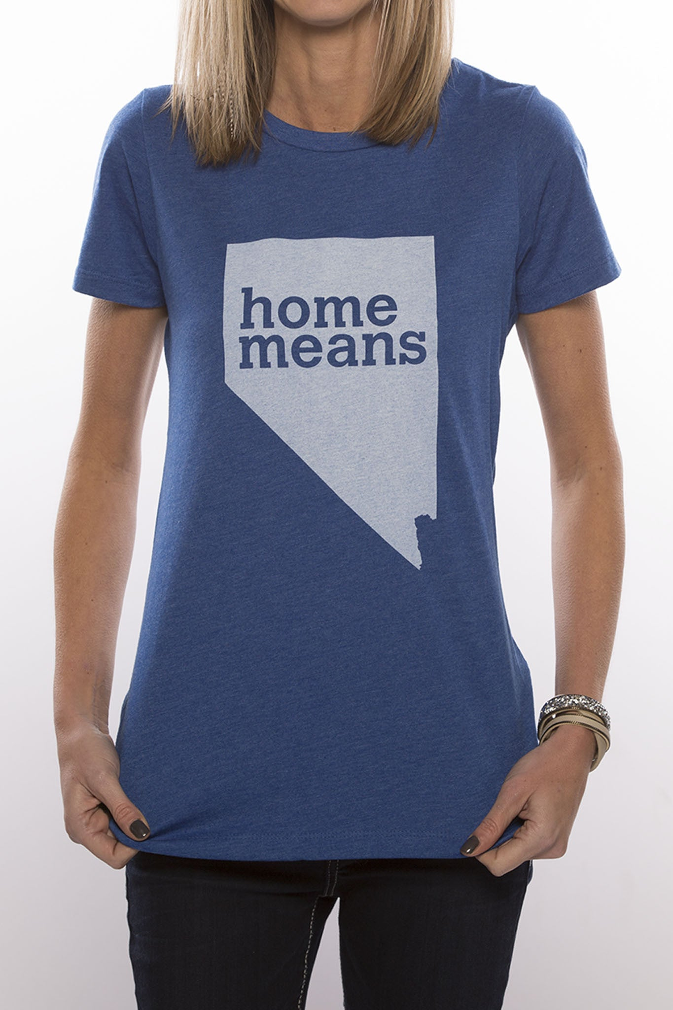 Home Means Nevada (Royal Blue)