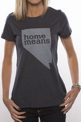 Home Means Nevada (Heather Navy)