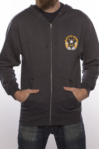 Battle Born Classic Zip Hoody