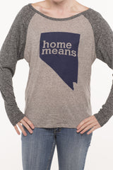Home Means Nevada Long Sleeve