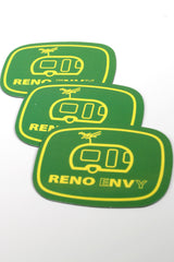 Sticker: Reno eNVy Trailer (Green/Yellow)