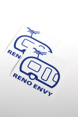Car Decal: RENO ENVY (Blue)
