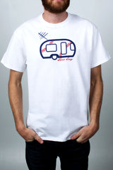 Mens T-Shirt: Base Baller Envy (White)