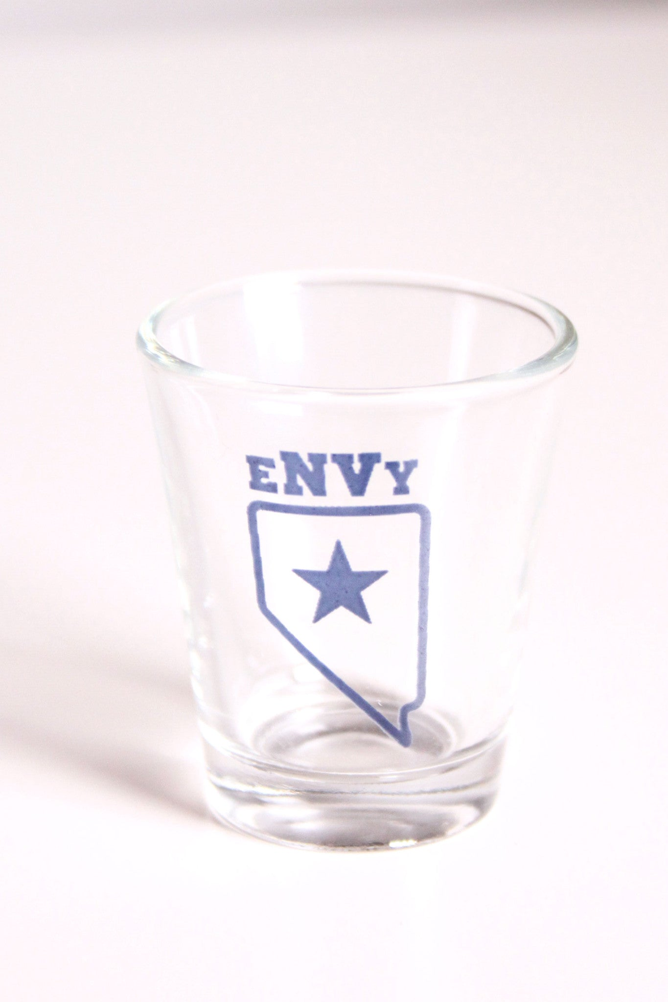 Shot Glass: eNVy Star (Blue)