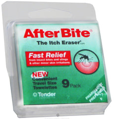 AfterBite Insect Bite Relief Wipes - 9 Wipes