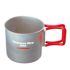 Evernew Titanium Single Wall Mug - 300ml (EBY266)
