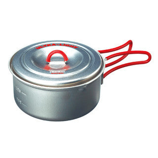 Evernew Titanium Ultralight Non Stick Pot 0.6 Liter (ECA251)
