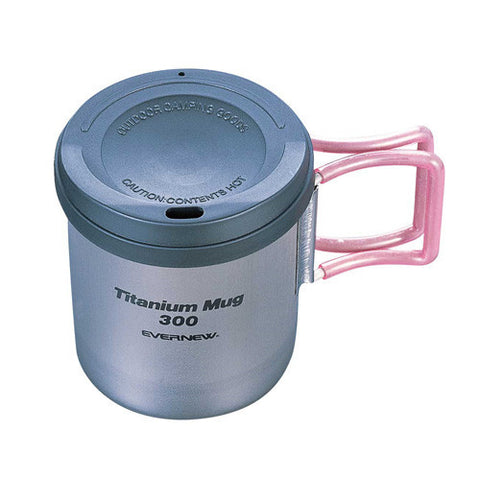 Evernew Titanium Double Wall Mug w/ Lid - 300ml (ECA354)