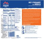 Mountain House Beef Stroganoff with Noodles Freeze Dried Meal, 2 Servings, Pouch