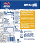 Mountain House Scrambled Eggs with Ham & Peppers Freeze Dried Meal, 1 Serving, Pouch