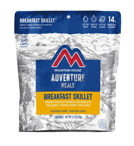 Mountain House Breakfast Skillet Freeze Dried Meal, 2 Servings, Pouch