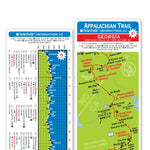 Pocket Profile Appalachian Trail Elevation Profile Maps