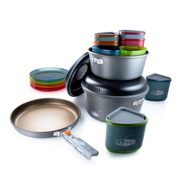 GSI Outdoors Pinnacle Camper Cookset
