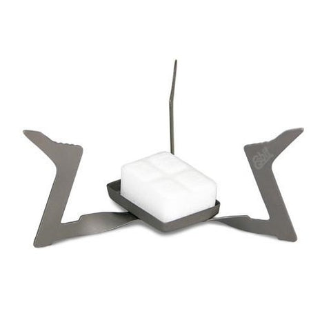 Ultralight Titanium Folding Solid Fuel Stove