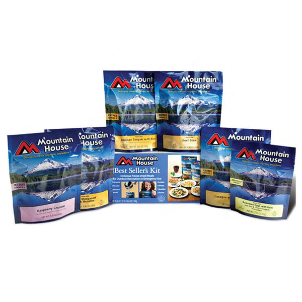 Mountain House BEST SELLERS Box Set of 6 Meals