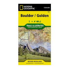 Boulder, Golden #100 (National Geographic Trails Illustrated Map)