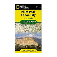 Pikes Peak, Canon City #137 (National Geographic Trails Illustrated Map)