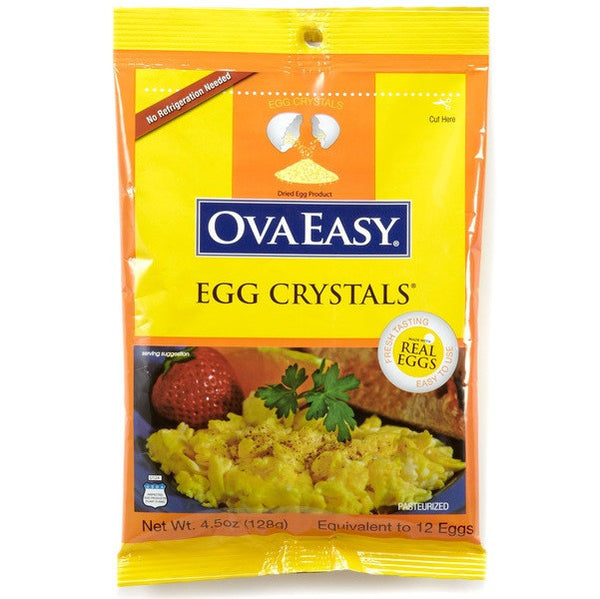 OvaEasy Whole Egg Crystals - 12 Eggs