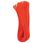 Neon Orange 550 Paracord - 100 ft