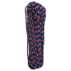 Red/White/Blue Camo 550 Paracord - 100 ft