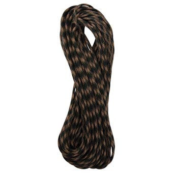 Woodland Camo 550 Paracord - 100 ft