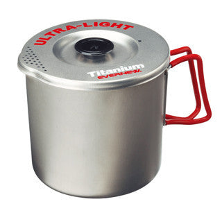 Evernew Titanium Medium Pasta Pot - 1 Liter (ECA522)