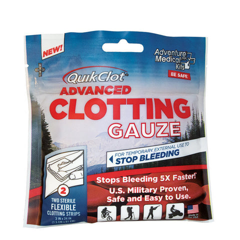 "QuikClot Advanced Clotting Gauze 3"" x 24"""