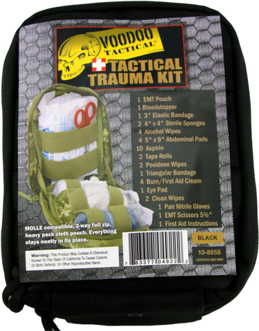 Voodoo Tactical Medical Trauma Kit Stocked First Aid Medic IFAK