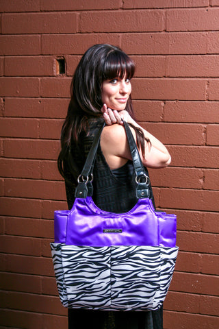 "The ""Purple Passion"" Perfect Ladies Organizer Tote Bag (on Clearance now)"
