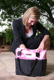 """Pretty in Pink"" Perfect Organizer Tote Bag (On Clearance Now)"