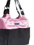 Pretty in Pink Women's Gym Bag Tote Side view