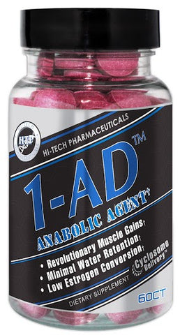 1- AD by Hi Tech Pharmaceuticals - 60 Count