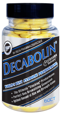 Decabolin® Prohormone Supplement by Hi Tech Pharmaceuticals 60 Count