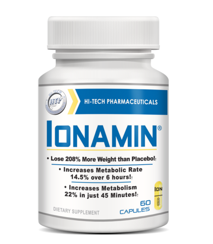 Ionamin® OTC Diet Pills by Hi Tech Pharmaceuticals - 60 Capsules
