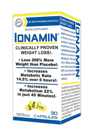Ionamin® OTC Diet Pills by Hi Tech Pharmaceuticals - 30 Capsules