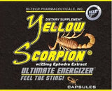 Yellow Scorpion Pills by Hi Tech Pharmaceuticals - 90 Count