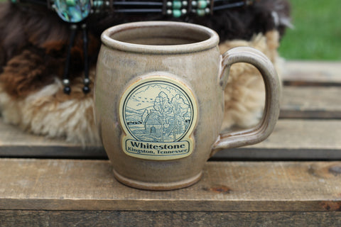 Whitestone Mug - Entrance Barn - Colors and Styles Vary - Call the office for current availability!