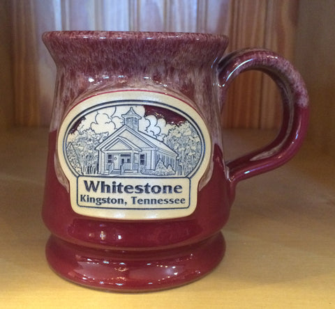 Whitestone Mug - Schoolhouse Building - Colors and Styles Vary - Call the office for current availability!