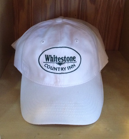 Whitestone Hat - Available in three colors - White, Hunter Green, Pink