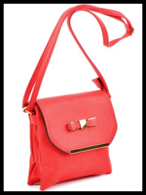 Bow Accent Crossbody Bag