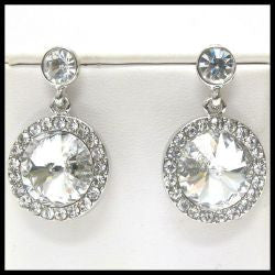 Swarovski Crystal Earrings Large