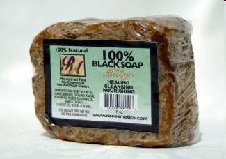 RA Cosmetics Black Soap 100% Bar (MANGO) 5oz